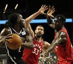Los Raptors siguen con su pretemporada triunfal
