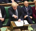 El Parlamento británico paraliza la votación sobre el 'brexit'