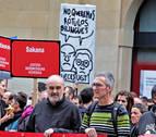 Cientos de personas piden al Gobierno foral que recurra la sentencia del euskera