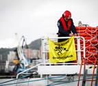 El Aita Mari zarpa de Pasaia con ayuda humanitaria para los refugiados de Lesbos