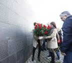 Homenaje del PSN en Sartaguda a las víctimas del franquismo