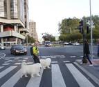 El cruce entre la avenida del Ejército y Pío XII, ¿semáforo o rotonda?