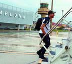 La Real cuadruplica a Osasuna en su número de vuelos desde Noáin