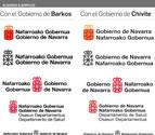El Gobierno de Navarra cambia su logotipo para que el castellano preceda al euskera