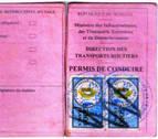Detenido un camionero senegalés en Tiebas por conducir con un carné falso
