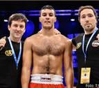 El navarro Mohamed Hamdi, campeón del mundo de kickboxing