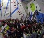 Berrioplano acoge a la elite nacional de escalada deportiva