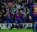 El Barça atropella al Valladolid y recupera el liderato