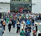 6.147 personas en la primera prueba de la oposición de Auxiliar Administrativo, con 136 plazas