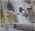 Detienen a tres jóvenes asaltantes en Zaragoza, tras una peligrosa fuga en coche