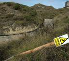 Herido grave un motorista tras caer a un foso de seis metros en el fuerte de San Cristóbal