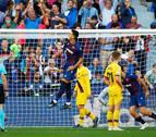 El Levante pisotea al Barça en una segunda parte perfecta