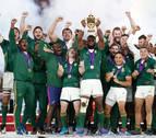 Sudáfrica baja a Inglaterra de la nube y logra su tercera Copa del Mundo