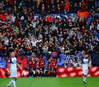 Indar Gorri deja en el aire su animación en el Osasuna-Real Madrid
