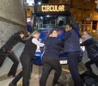 Mujeres al volante en el bus de Tudela