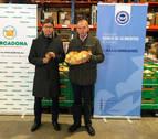 Mercadona entrega 5.000 kilos de productos al Banco de Alimentos de Navarra