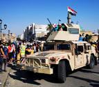 Las fuerzas de seguridad en Irak disparan