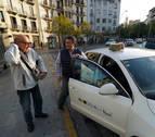 Así funciona el taxi a demanda en la Comarca de Pamplona