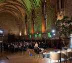 Cita de calígrafos en la catedral de Pamplona