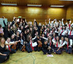 Viaje a Bulgaria de la orquesta joven de la escuela de música Luis Morondo