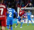 Osasuna sale airoso de Getafe ante un rival que pudo ganar al final por ocasiones