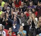 El campeonato de España de Gimnasia Rítmica congrega a 15.000 personas en Pamplona