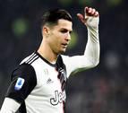 Cristiano Ronaldo vive una ataque de furia tras ser cambiado en la Serie A