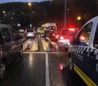 Una mujer sufre una fractura en la pierna tras ser atropellada en Pamplona
