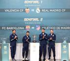 Valencia-R.Madrid y Barça-Atlético, semifinales de la Supercopa en Arabia Saudí