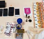 Detenido en Caparroso por tráfico de drogas y por circular con un coche robado