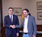 Las cuentas de Sánchez e Iglesias para la investidura