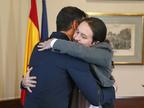 Sánchez e Iglesias firman un preacuerdo para conformar un Gobierno de coalición