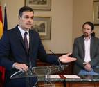 El PSOE consultará el sábado 23 de noviembre a su militancia el acuerdo con Podemos