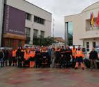 Treinta y cinco voluntarios asisten en Sartaguda a un curso sobre inundaciones