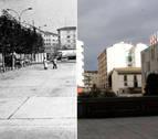 IMAGEN INTERACTIVA | Cuando cambió... La plaza de Las Eras de Burlada