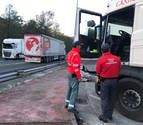 Denunciado un camionero en Doneztebe por dar positivo en drogas y alcohol
