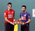 Altuna y Ezkurdia eligen material en el Navarra Arena sin quejas