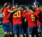 España sub 21 sigue invicta su camino a la Eurocopa de 2021