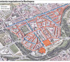 El PSN respalda la zona azul en la Rochapea pero pide estudiar medidas de movilidad