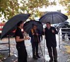 Feria de paraguas en Santesteban