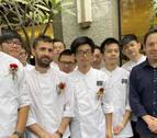 El cocinero navarro David Yárnoz replica su Restaurante El Molino de Urdaniz en Taipéi