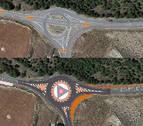 El cruce entre Peralta, San Adrián y Andosilla se sustituirá por una rotonda