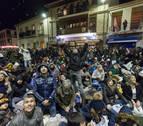 Más de 600 kilos de nueces 'vuelan' en Fustiñana