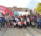 Triunfo de Alba y Aliaga en la carrera Amimet de Tudela