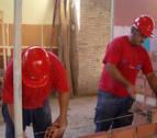 Albañiles y encofradores copan el 25% de los contratos en la construcción en Navarra