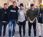 El vestuario de Osasuna despide a Brandon en las redes sociales
