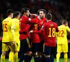 España cierra la fase de grupos con una manita y será cabeza de serie