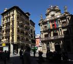 Pamplona pondrá limitaciones en la plaza del Ayuntamiento y en la plaza del Castillo el día 6