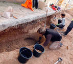Aparecen 9 nuevos enterramientos de origen medieval en Ribaforada