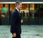 Felipe VI destaca el dinamismo y la capacidad de crecimiento de Navarra